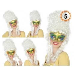 Maschera oro decorata Carnevale