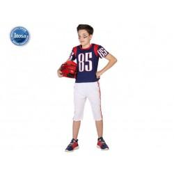 Costume giocatore rugby bambino
