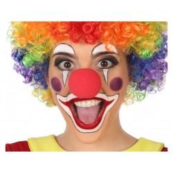 Naso da Clown Pagliaccio rosso in gommapiuma