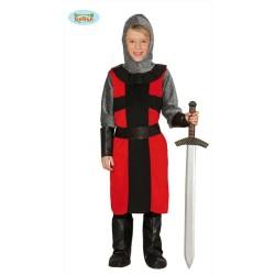 Costume Cavaliere Medioevale Crociato  Bambino