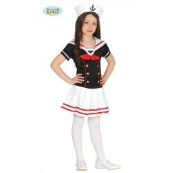 Costume Marinaia Bambina Carnevale