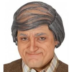 Parrucca anziano vecchio nonno grigia