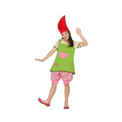 Costume folletto irlandese bambina