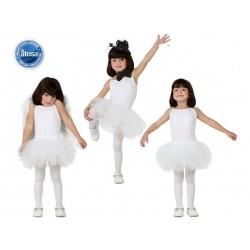 Costume Ballerina classica bianco Bambina carnevale Atosa