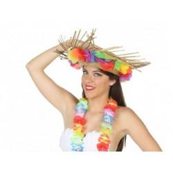 Cappello hawaiano unisex multicolore