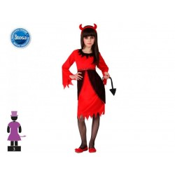 Costume da diavola bambina Halloween