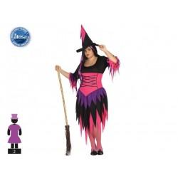 Costume strega donna sexy halloween taglia XXL