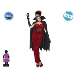Costume vampira horror vampiressa donna halloween