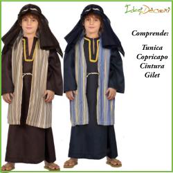 Costume da San Giuseppe bambino pastore