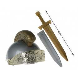 Armi set elmetto e spada