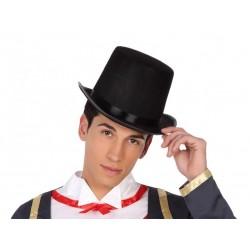 Cappello cilindro alto nero