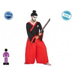 Costume samurai giapponese uomo