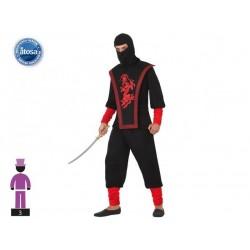 Costume ninja uomo taglia  XS/S