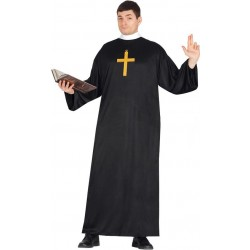 Costume prete sacerdote uomo taglia L