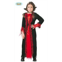 Costume da vampira bambina vampiressa