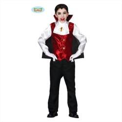 Costume dracula vampiro bambino