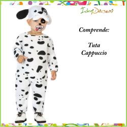 Costume cane dalmata neonato bambino vestito bebè