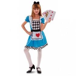 Costume Alice nel paese delle meraviglie bambina