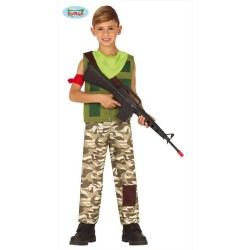 Costume soldato bambino mercenario Fortnight
