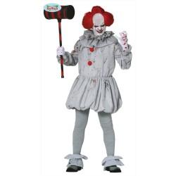 Costume pagliaccio assassino clown