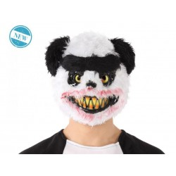 Maschera halloween panda assassino horror