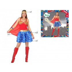 Costume super eroina donna sexy