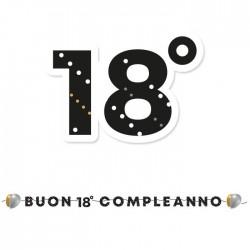 Festone buon 18 compleanno prestige