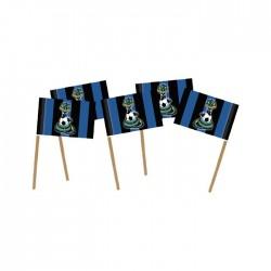 Stecchini Inter Tifoso nero azzurro  feste e Party